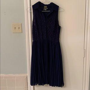 Navy Taylor dress size 2